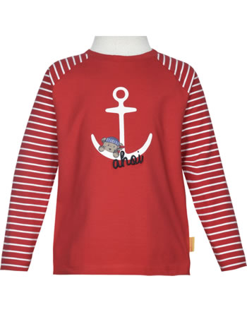 Steiff T-Shirt Langarm FISH AND SHIP Mini Boys true red 2112115-4015