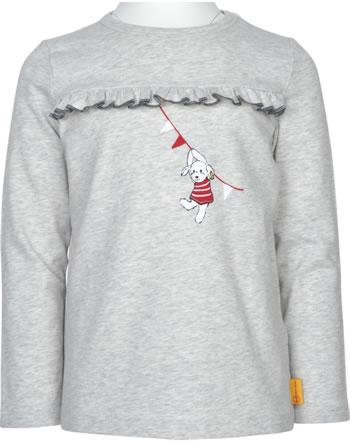 Steiff T-Shirt long sleeve FLYING AWAY Girls soft grey 2122213-9007