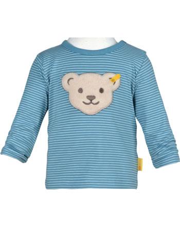 Steiff T-Shirt Langarm FOREST FRIENDS Baby Boys adriatic blue 2023332-6045
