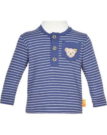 Steiff T-Shirt Langarm HIGH FIVE Baby Boys deep cobalt 2111312-6062