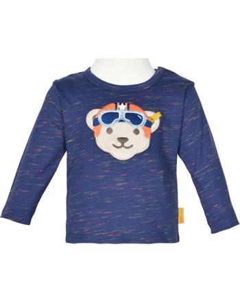 Steiff T-Shirt Langarm HIGH FIVE Baby Boys deep cobalt 2111329-6062