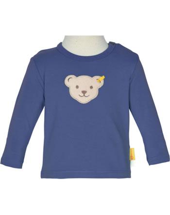 Steiff T-Shirt Langarm HIGH FIVE Baby Boys deep cobalt 2111333-6062