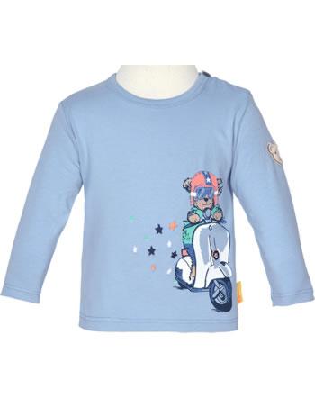 Steiff T-Shirt long sleeve HIGH FIVE Baby Boys forever blue 2111319-6027