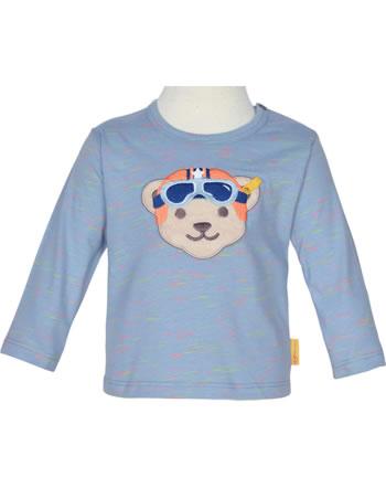Steiff T-Shirt Langarm HIGH FIVE Baby Boys forever blue 2111329-6027