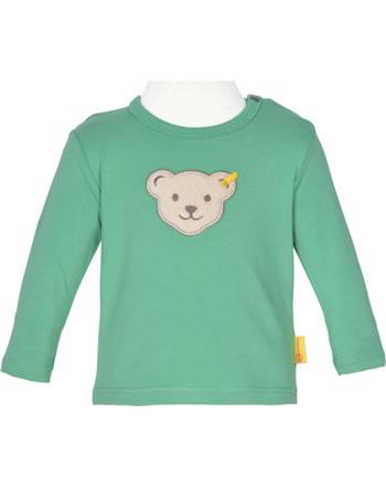 Steiff T-Shirt long sleeve HIGH FIVE Baby Boys winter green 2111333-5021
