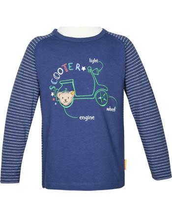 Steiff T-Shirt long sleeve HIGH FIVE Mini Boys deep cobalt 2111121-6062