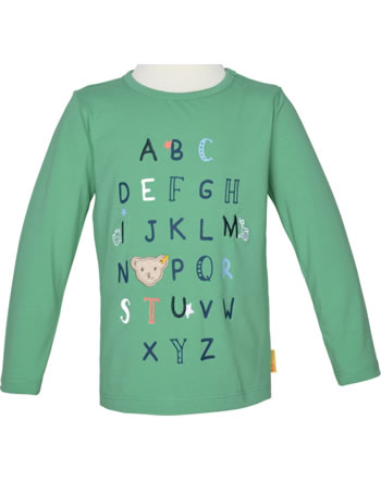 Steiff T-Shirt long sleeve HIGH FIVE Mini Boys winter green 2111119-5021