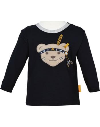 Steiff T-Shirt long sleeve INDI BEAR Baby Boys steiff navy 2022340-3032