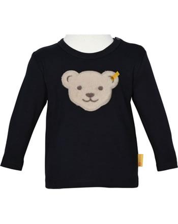 Steiff T-Shirt Langarm INDI BEAR Baby Boys steiff navy 2022342-3032