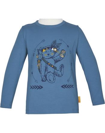 Steiff T-Shirt long sleeve INDI BEAR Mini Boys coronet blue 2022115-6048