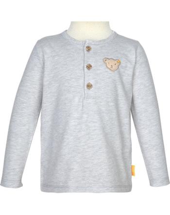 Steiff T-Shirt Langarm LETS PLAY Mini Boys nimbus cloud 2121103-9017