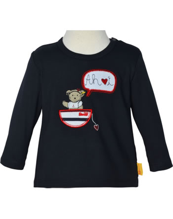 Steiff T-Shirt Langarm MARINE AIR Baby Girls steiff navy 2112435-3032