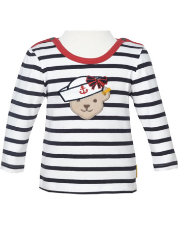 Steiff T-Shirt Langarm MARINE AIR Baby Girls steiff navy 2112438-3032