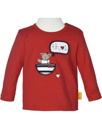 Steiff T-Shirt Langarm MARINE AIR Baby Girls true red 2112435-4015
