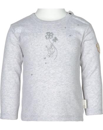 Steiff T-Shirt long sleeve ORGANIC LUCKY CHARM Baby nimbus cloud 2122628-9017