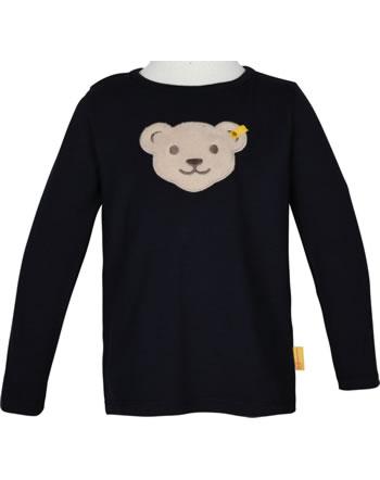 Steiff T-Shirt Squeaker long sleeve BEAR TO SCHOOL steiff navy 2021117-3032