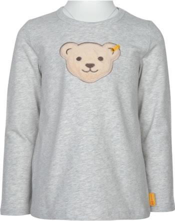 Steiff T-Shirt Langarm Quietsche FLYING AWAY Mini Girls soft grey 2122209-9007