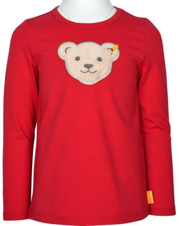 Steiff T-Shirt squeaker long sleeve FLYING AWAY Girls tango red 2122209-4008