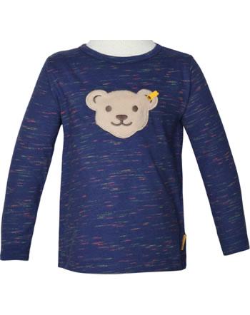 Steiff T-Shirt long sleeve squeaker HIGH FIVE Mini Boys deep cobalt 2111124-6062