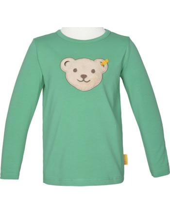 Steiff T-Shirt long sleeve squeaker HIGH FIVE Mini Boys winter green 2111128-5021