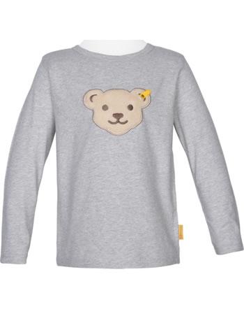 Steiff T-Shirt long sleeve squeaker HIGH FIVE soft grey melange 2111124-9007
