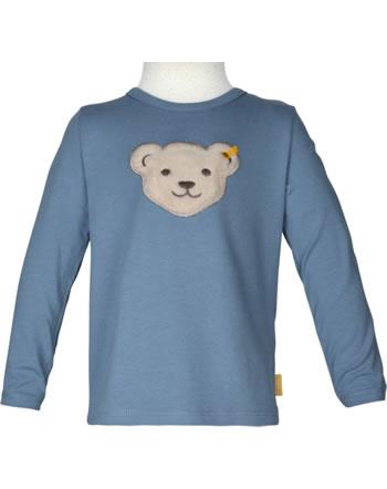 Steiff T-Shirt Langarm Quietsche INDI BEAR Mini Boys coronet blue 2022113-6048