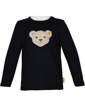 Steiff T-Shirt Squeaker long sleeve INDI BEAR Mini Boys steiff navy 2022113-3032