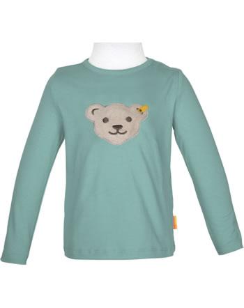 Steiff T-Shirt Langarm Quietsche SWEET HEART Girls adriatic blue 2121203-6045