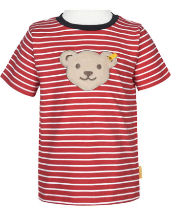 Steiff T-Shirt Quietsche FISH AND SHIP Mini Boys true red 2112102-4015