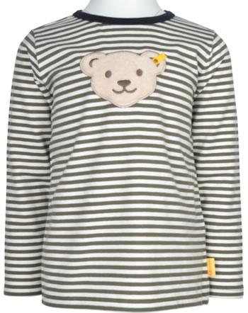Steiff T-Shirt Quietsche POLAR FRIENDS Mini Boys dusty olive 2123113-5020