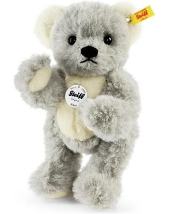 Steiff Teddy ours Adoni 27 cm alpaca gris/blanc 039379