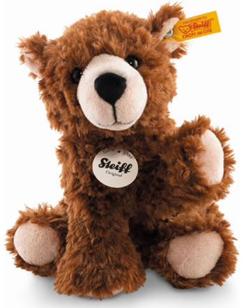 Steiff ours Browny 17 cm assis brun 084041
