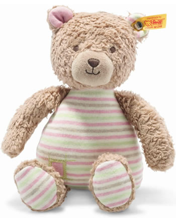 Steiff Teddybär Rosy 24 cm hellbraun/rosa 242151 GOTS