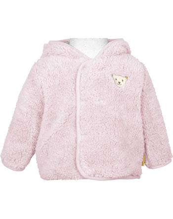 Steiff Plush Jacket with hood FAIRYTALE Baby Girls barely pink 2023410-2560