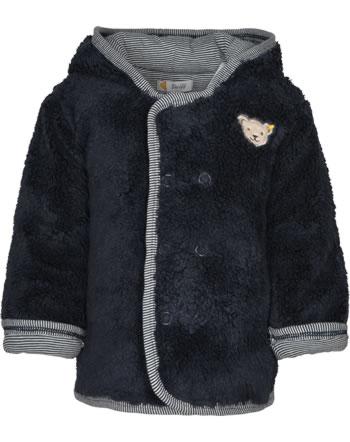 Steiff Teddyplüsch-Jacke PAPER PLANE Baby Boys steiff navy 2122304-3032