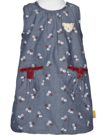 Steiff Dress sleeveless ROSE DENIM folkstone gray 1922203-6100