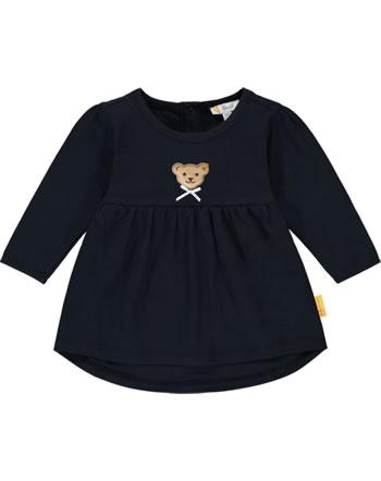 Steiff Tunika/Shirt long sleeve BEAR TO SCHOOL steiff navy 2021411-3032