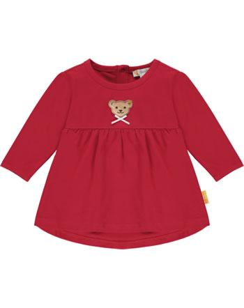 Steiff Tunika/Shirt long sleeve BEAR TO SCHOOL tango red 2021411-4008