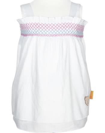 Steiff Tunika SWEET CHERRY bright white 2013403-1000