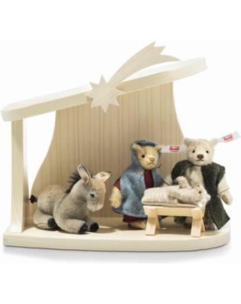 Steiff Nativity Scene Set 4 pieces mohair 006937