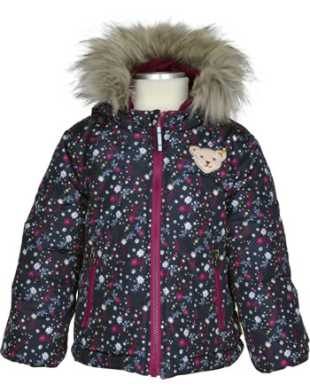 Steiff Wende-Jacke Bionic Finish BLUEBERRY HILL beet red 1922601-4010