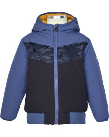 Steiff Wende-Jacke mit Kapuze LETS PLAY Mini Boys bijou blue 2121127-6066