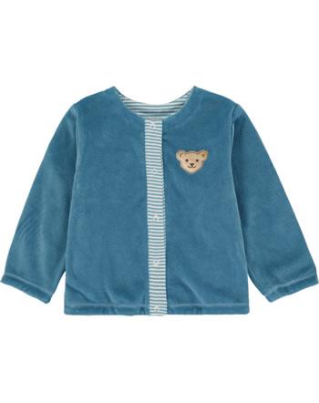 Steiff Reversible Swet jacket BABY UNISEX ORGANIC adriatic blue 2012324-6025