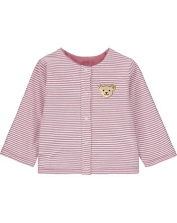 Steiff Reversible Swet jacket BABY UNISEX ORGANIC mauveglow 2012324-3021