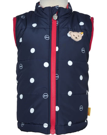 Steiff Reverable Vest BEAR TO SCHOOL steiff navy 2021202-3032