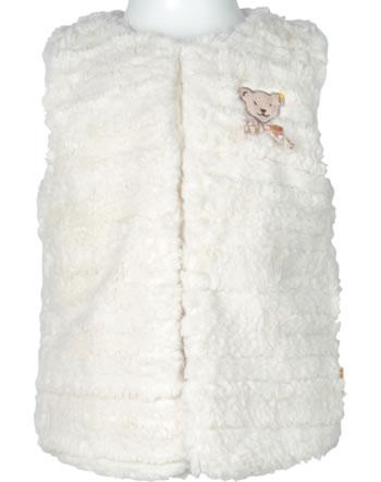 Steiff Wende-Weste Plüsch BEST FRIENDS Mini Girls winter white 2123222-1060