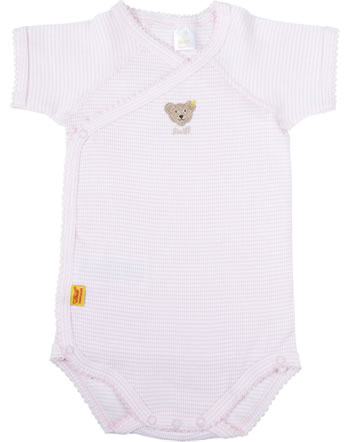Steiff Baby bodysuit ESSENTIALS CLASSICS barely pink 0008641-2560