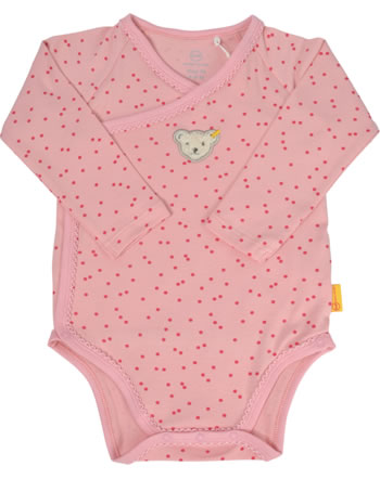Steiff Wickel-Body Langarm BEST FRIENDS Baby Girls peony 2123436-3057