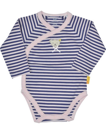 Steiff Bodysuit long sleeve BUGS LIFE Baby Girls deep cobalt 2111435-6062