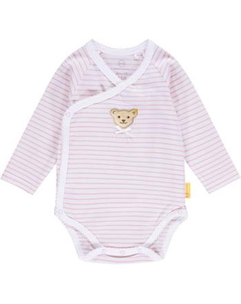 Steiff Wickel-Body Langarm HELLO SUMMER Baby Girls pink lady 2113406-3033